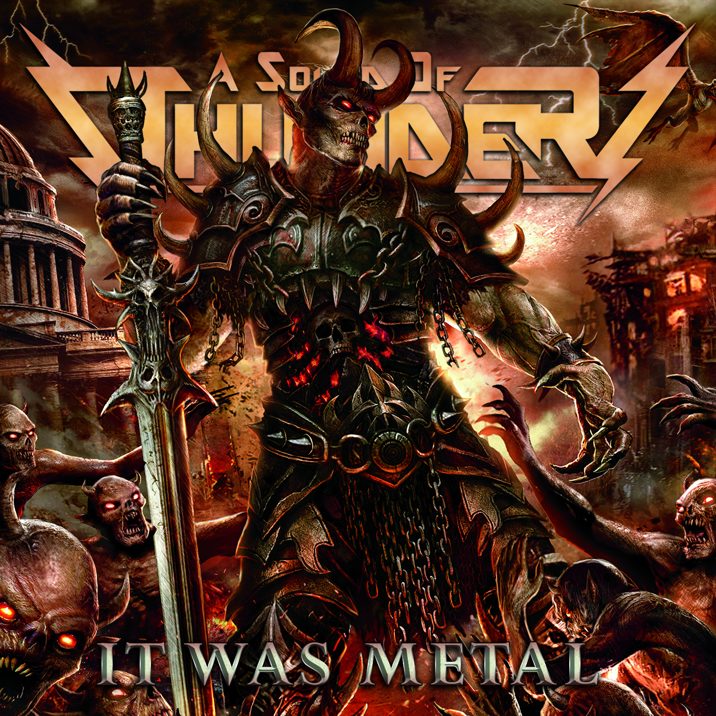 Album Review: A SOUND OF THUNDER - It Was Metal | Metal Nation