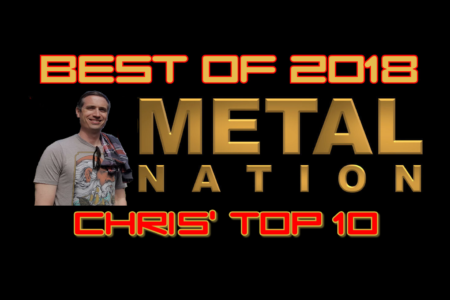 Chris' Top 10 Hard Rock and Metal Albums of 2018 | Metal Nation